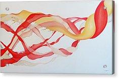 Tango Acrylic Print by Emil Bodourov