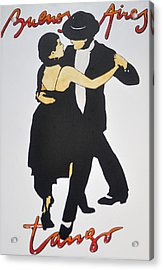 Tango In Buenos Aires Acrylic Print