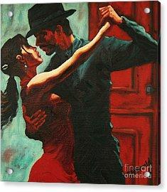 Tango Intensity Acrylic Print
