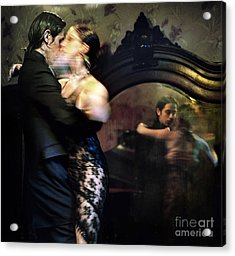 Tango - Mirrored Acrylic Print by Michel Verhoef