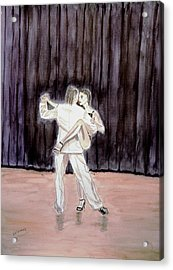 Tango Passion. Acrylic Print