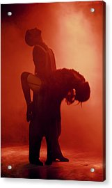 Tango Passion Acrylic Print by Steven Boone