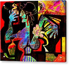 Tango Picasso-ii Acrylic Print by Dean Gleisberg