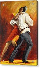 Tango Acrylic Print by Sheri  Chakamian