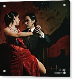 Tango - The Passion Acrylic Print