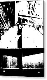 Tank And Chain Acrylic Print