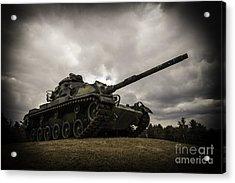 Tank World War 2 Acrylic Print by Glenn Gordon