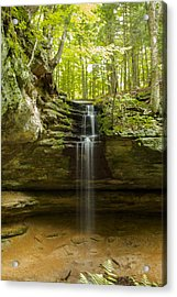 Tannery Falls Acrylic Print by Jill Laudenslager