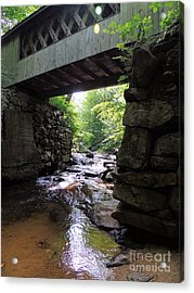 Tannery Hill Bridge Acrylic Print
