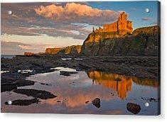 Tantallon Castle Acrylic Print by David Ross