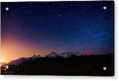 Tantalus Lookout Acrylic Print by Alexis Birkill