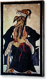 Tao God Of Agriculture Acrylic Print by Patrick Landmann/science Photo Library
