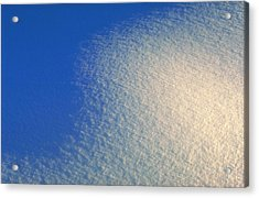 Acrylic Print featuring the photograph Tao Of Snow by Mark Greenberg