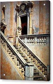 Taormina Staircase Acrylic Print by Carla Parris