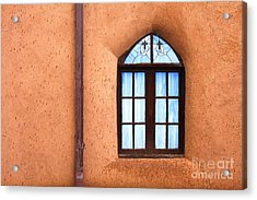 Taos Church 2 Acrylic Print by Kathlene Pizzoferrato