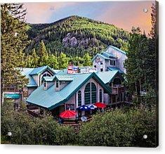Taos Mountain Heaven Acrylic Print by Shanna Gillette