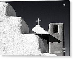 Taos Pueblo Chapel Acrylic Print