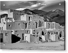 Taos Pueblo North Acrylic Print