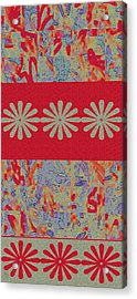 Tapestry Acrylic Print by Ben and Raisa Gertsberg