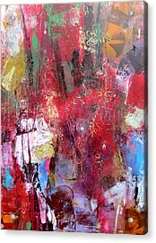 Tapestry Acrylic Print by Katie Black
