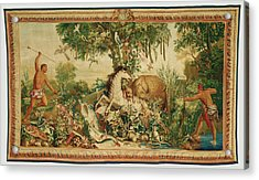 Tapestry Le Cheval Rayé From Les Anciennes Indes Series Acrylic Print by Litz Collection