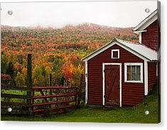 Tapestry Of Fall Colors Acrylic Print by Jeff Folger