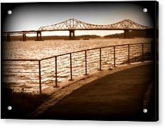 Tappan Zee Bridge Ix Acrylic Print by Aurelio Zucco