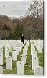Taps Acrylic Print by Terry Rowe