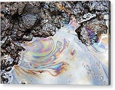 Tar Sands Acrylic Print by Ashley Cooper