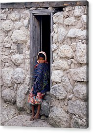 Tarahumara Child Acrylic Print
