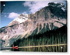 Tranquility...emerald Lake Canada Acrylic Print