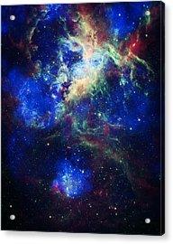 Tarantula Nebula 5 Acrylic Print by Jennifer Rondinelli Reilly - Fine Art Photography