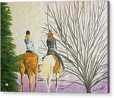 Tara's Ride Acrylic Print by Tina Stoffel