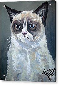 Tard - Grumpy Cat Acrylic Print