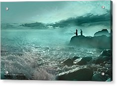 Tarde De Pesca Acrylic Print