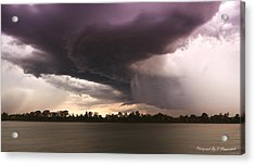 Taree Storm 0001 Acrylic Print