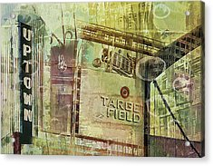 Target Field And Uptown Acrylic Print
