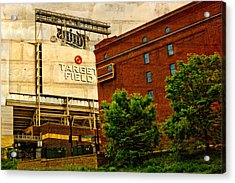 Target Field Home Of The Minnesota Twins Acrylic Print by Susan Stone
