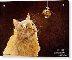 Target Practice... Acrylic Print by Will Bullas
