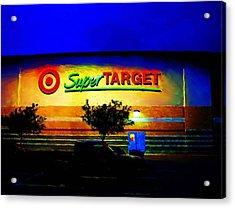 Target Super Store B Acrylic Print