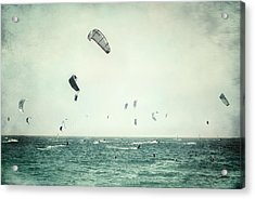Tarifa Beach Acrylic Print by Guido Montanes Castillo