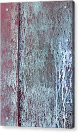 Acrylic Print featuring the photograph Tarnished Tin by Heidi Smith