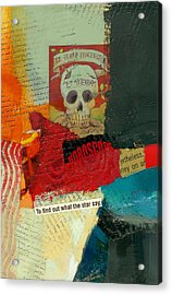 Tarot Card Abstract Acrylic Print by Corporate Art Task Force