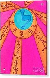 Tarot Card - Eclipse  Acrylic Print