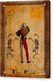 Tarot Card The Fool Acrylic Print