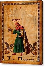 Tarot Card The Magician  Acrylic Print