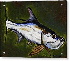 Tarpon Fish Acrylic Print