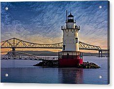 Tarrytown Light Acrylic Print by Susan Candelario