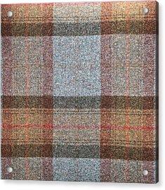 Tartan Wool Acrylic Print by Tom Gowanlock