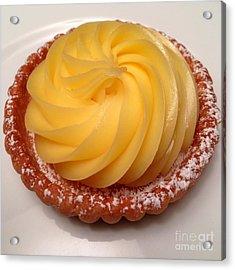 Tarte Citron Dessert Acrylic Print